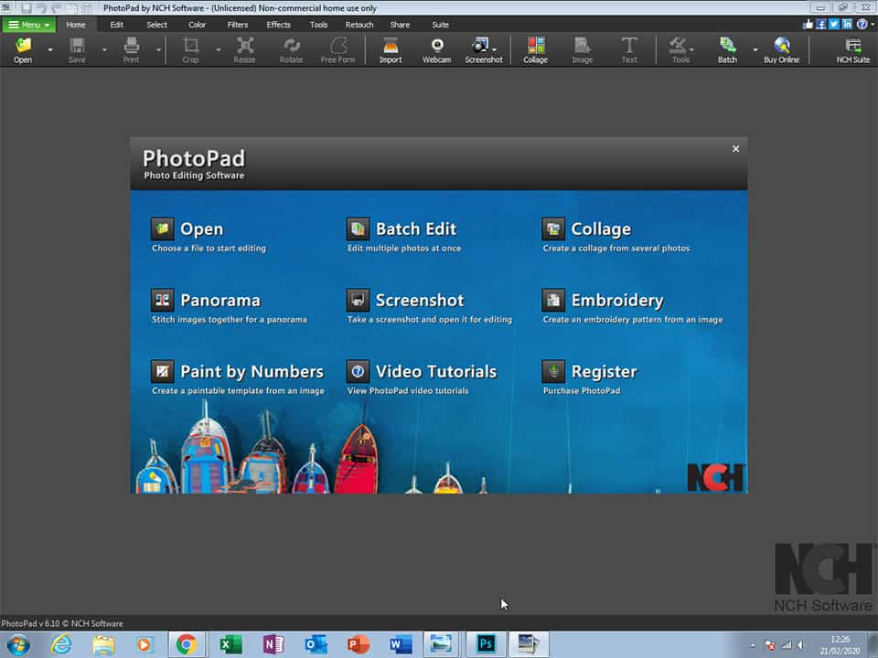 PhotoPad Software for Photo Editing