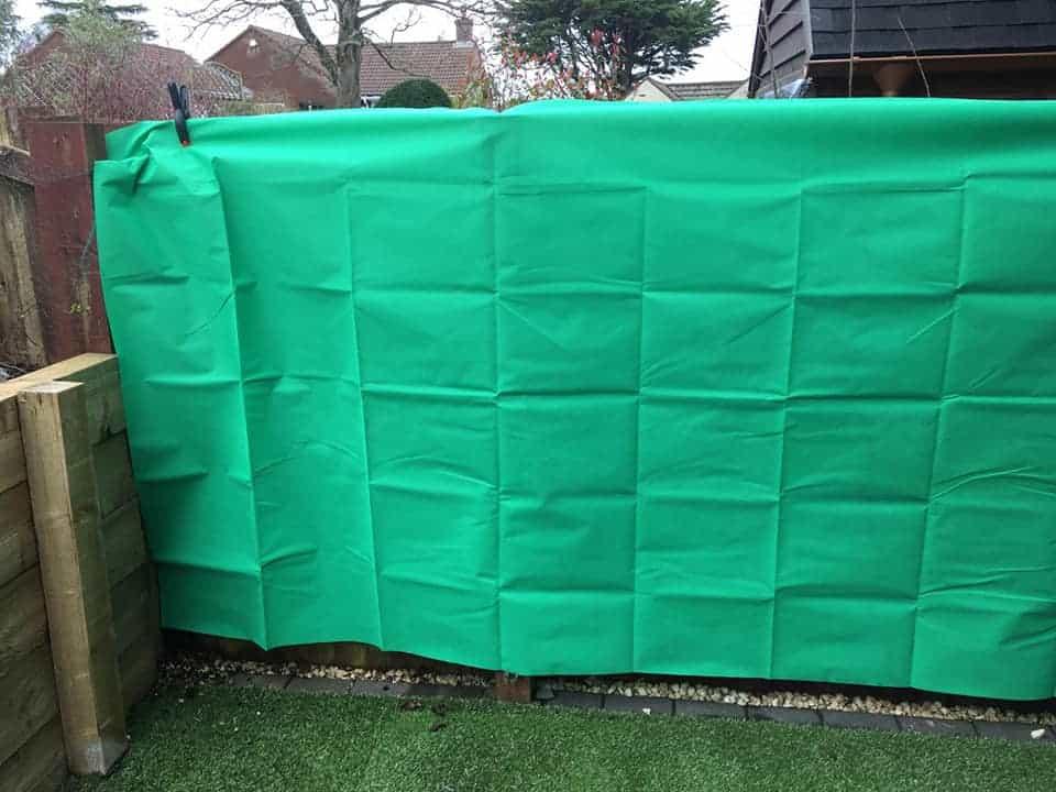 Makeshift Green Screen