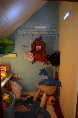 Children's Indoor Den Ideas ( Under Stairs )