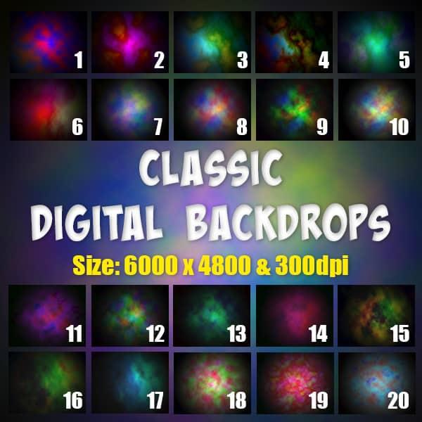 Classic Digital Backdrops