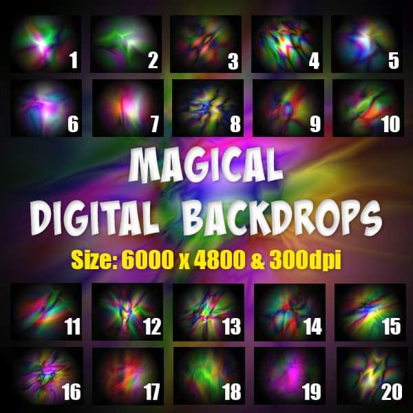 Magical Digital Backgrounds