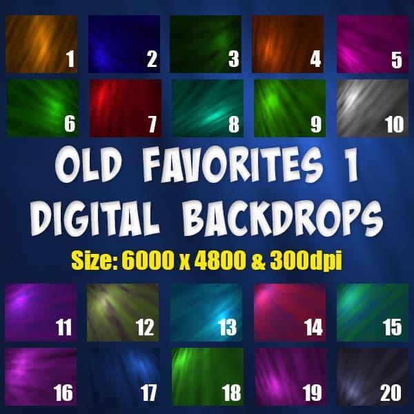 Classic digital backgrounds