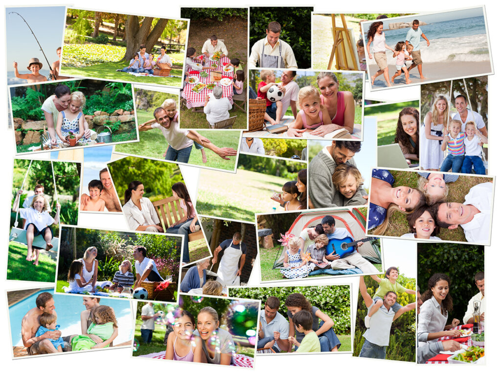 Create a Family Collage