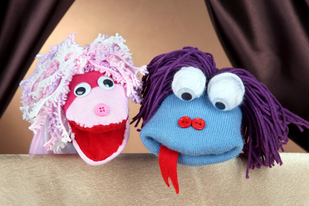 Make Puppets with Socks