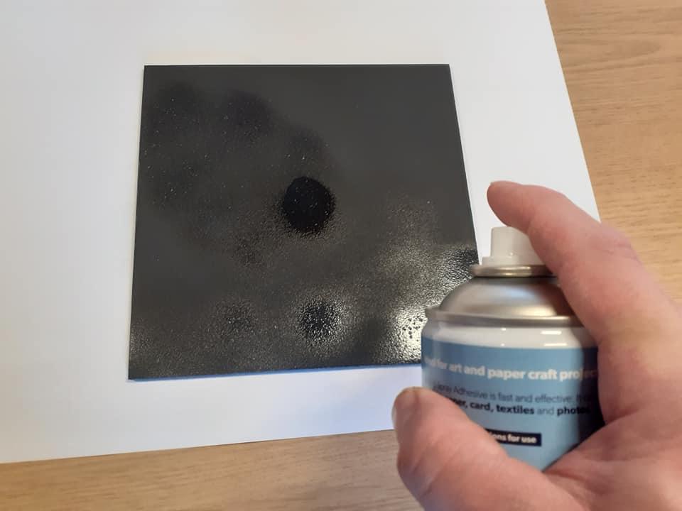 Spray Paint for Family Tree
