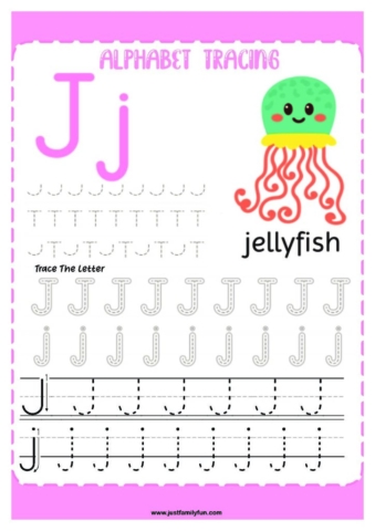 Alphabets_10-pdf-724x1024-640x480 Free Printable Trace The Alphabet Worksheets for Kids.
