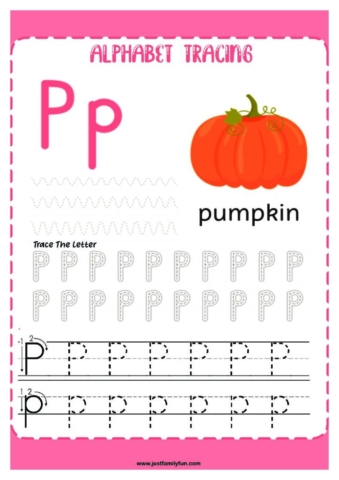 Alphabets_16-pdf-724x1024-640x480 Free Printable Trace The Alphabet Worksheets for Kids.