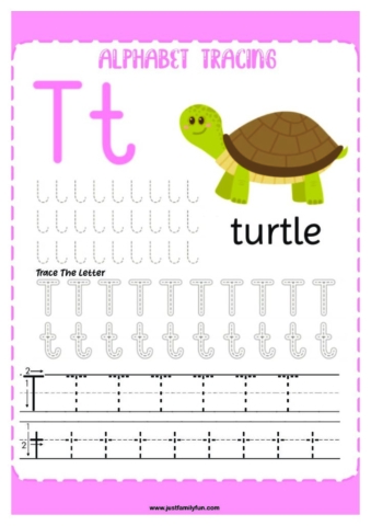 Alphabets_20-pdf-724x1024-640x480 Free Printable Trace The Alphabet Worksheets for Kids.