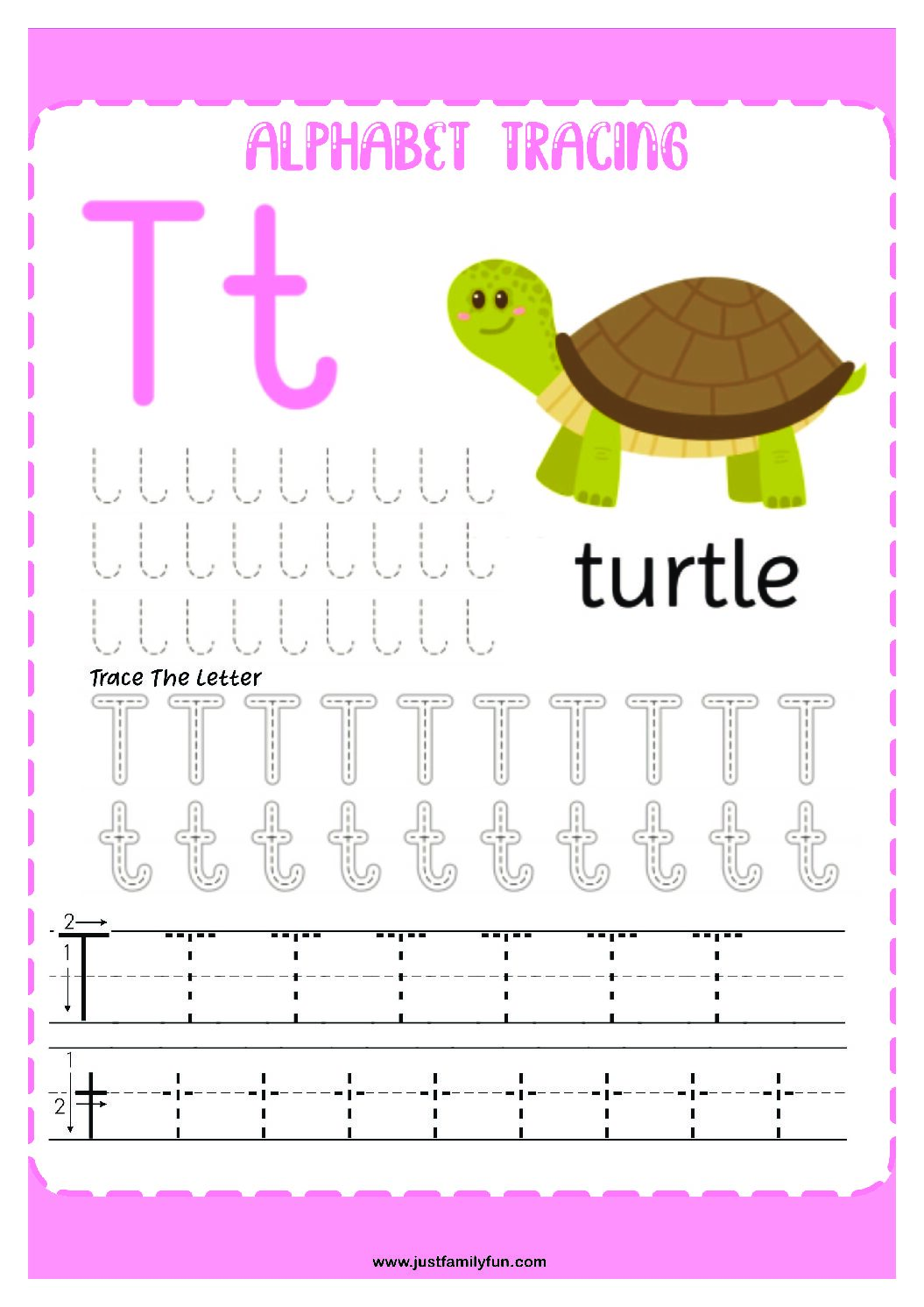 Alphabets_20-pdf Free Printable Trace The Alphabet Worksheets for Kids.