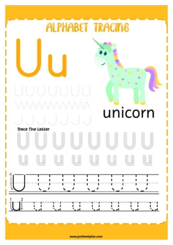 Alphabets_21-pdf-724x1024-640x480 Free Printable Trace The Alphabet Worksheets for Kids.