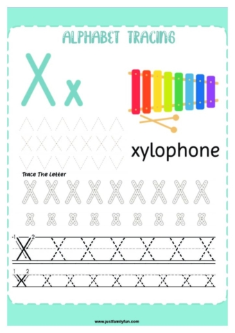 Alphabets_24-pdf-724x1024-640x480 Free Printable Trace The Alphabet Worksheets for Kids.