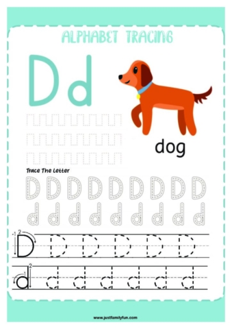 Alphabets_4-pdf-724x1024-640x480 Free Printable Trace The Alphabet Worksheets for Kids.