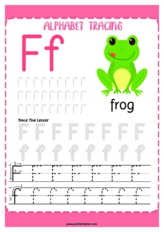 Alphabets_6-pdf-724x1024-640x480 Free Printable Trace The Alphabet Worksheets for Kids.