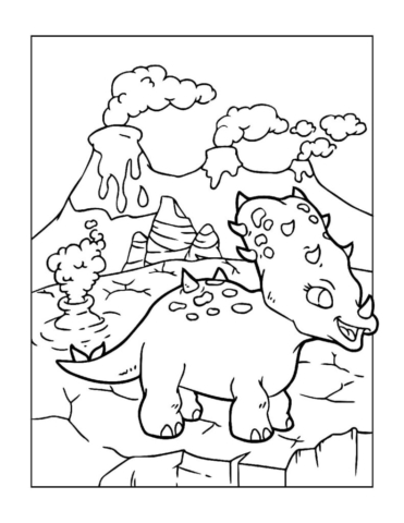 Coloring-Pages-Dinosaur-9-pdf-791x1024-640x480 Free Printable Dinasour Colouring Pages