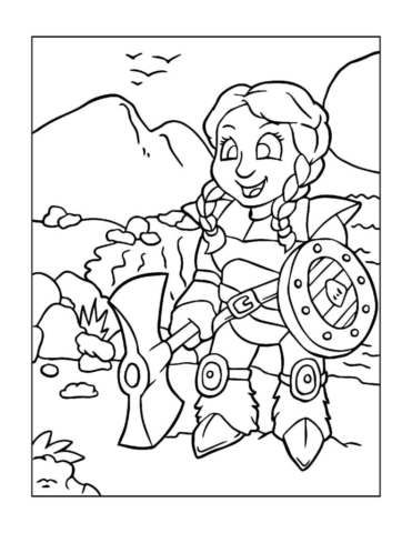 Coloring-Pages-Pirates-and-Knights-for-Boys-4-01-pdf-791x1024-640x480 Free Printable Pirates &  Knights Colouring Pages