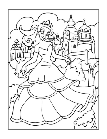 Coloring-Pages-Princess-1-01-pdf-791x1024-640x480 Free Printable Princesses Colouring Pages
