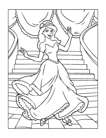Coloring-Pages-Princess-11-01-pdf-791x1024-640x480 Free Printable Princesses Colouring Pages