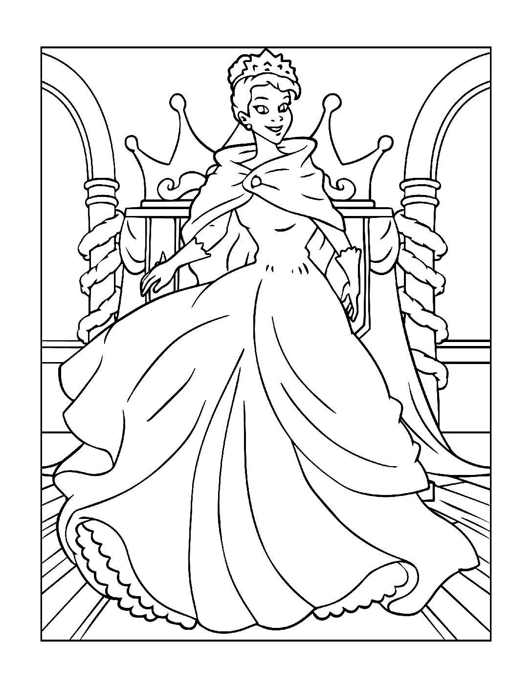 Coloring-Pages-Princess-14-01-pdf Free Printable Princesses Colouring Pages
