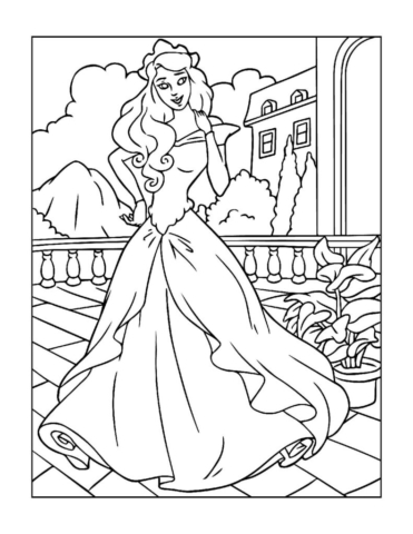 Coloring-Pages-Princess-8-01-pdf-791x1024-640x480 Free Printable Princesses Colouring Pages