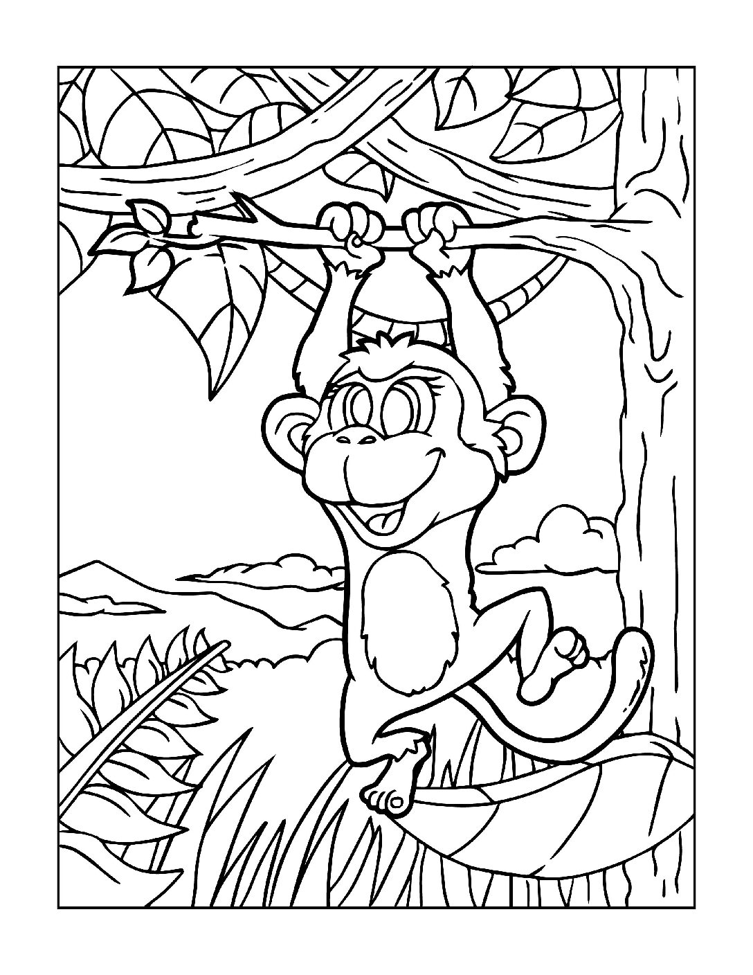 Coloring-Pages-Zoo-Animals-10-01-1-pdf Free Printable  Zoo Animals Colouring Pages