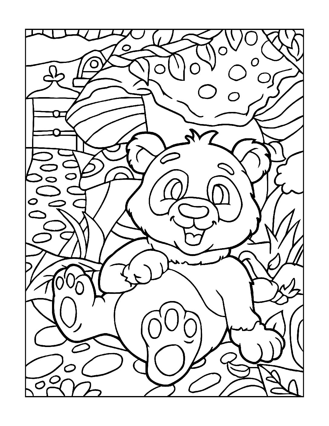 Coloring-Pages-Zoo-Animals-12-01-1-pdf Free Printable  Zoo Animals Colouring Pages