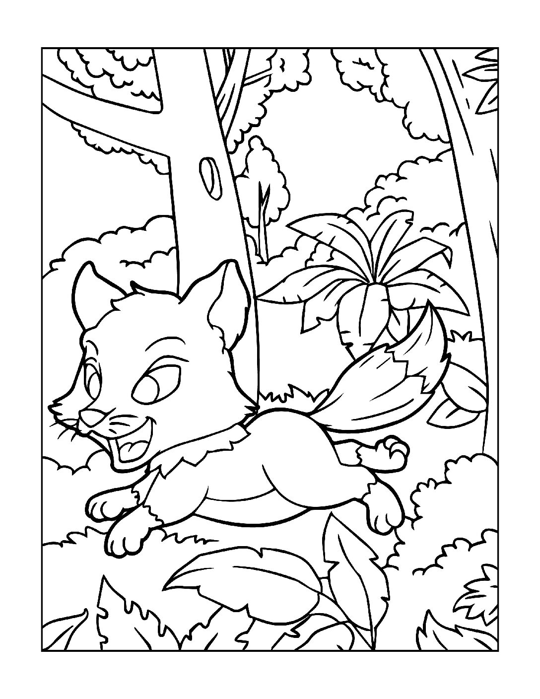 Coloring-Pages-Zoo-Animals-13-01-1-pdf Free Printable  Zoo Animals Colouring Pages