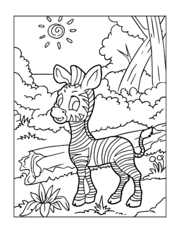 Coloring-Pages-Zoo-Animals-14-01-1-pdf-791x1024-640x480 Free Printable  Zoo Animals Colouring Pages