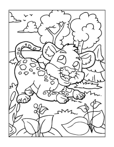 Coloring-Pages-Zoo-Animals-15-01-1-pdf-791x1024-640x480 Free Printable  Zoo Animals Colouring Pages