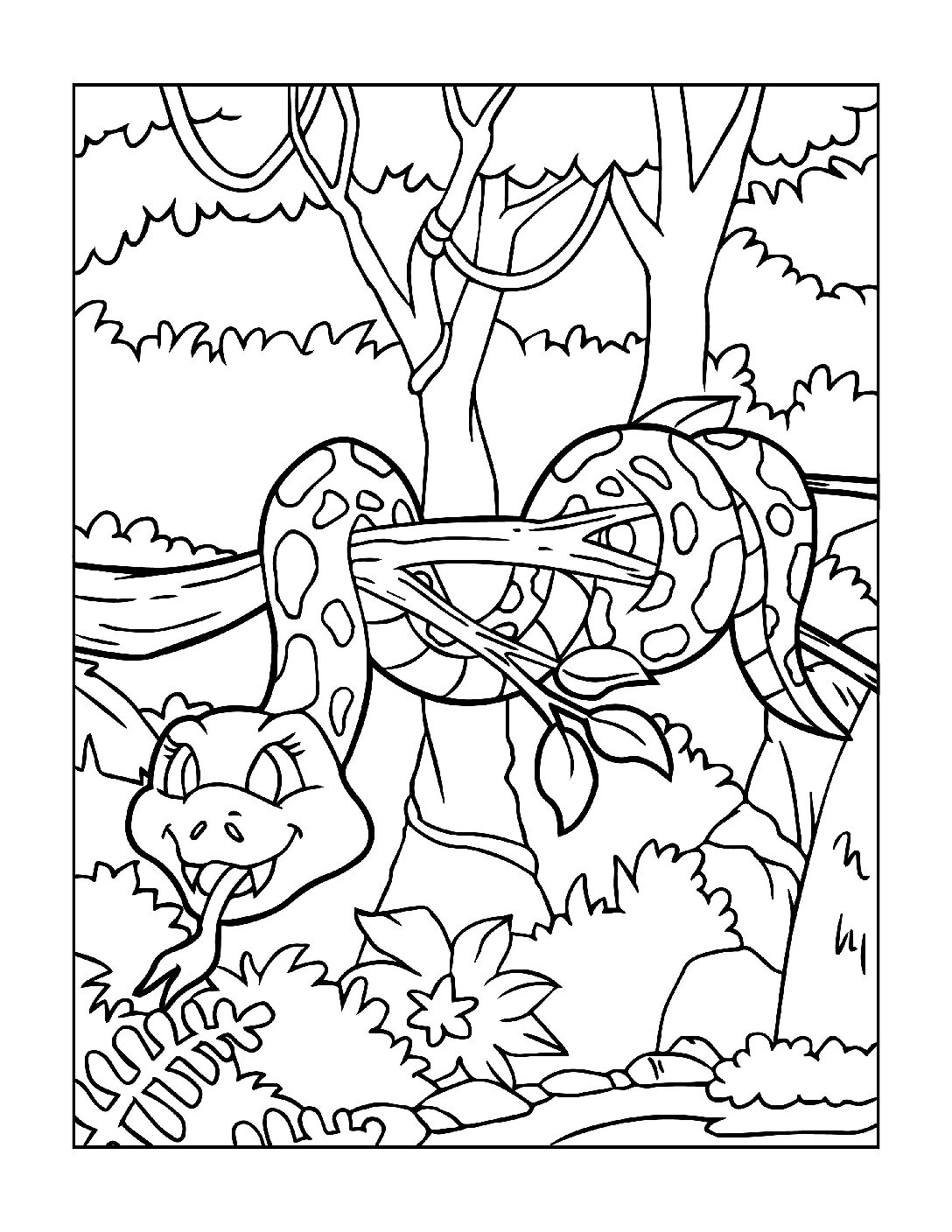 Coloring-Pages-Zoo-Animals-2-01-1-pdf Free Printable  Zoo Animals Colouring Pages