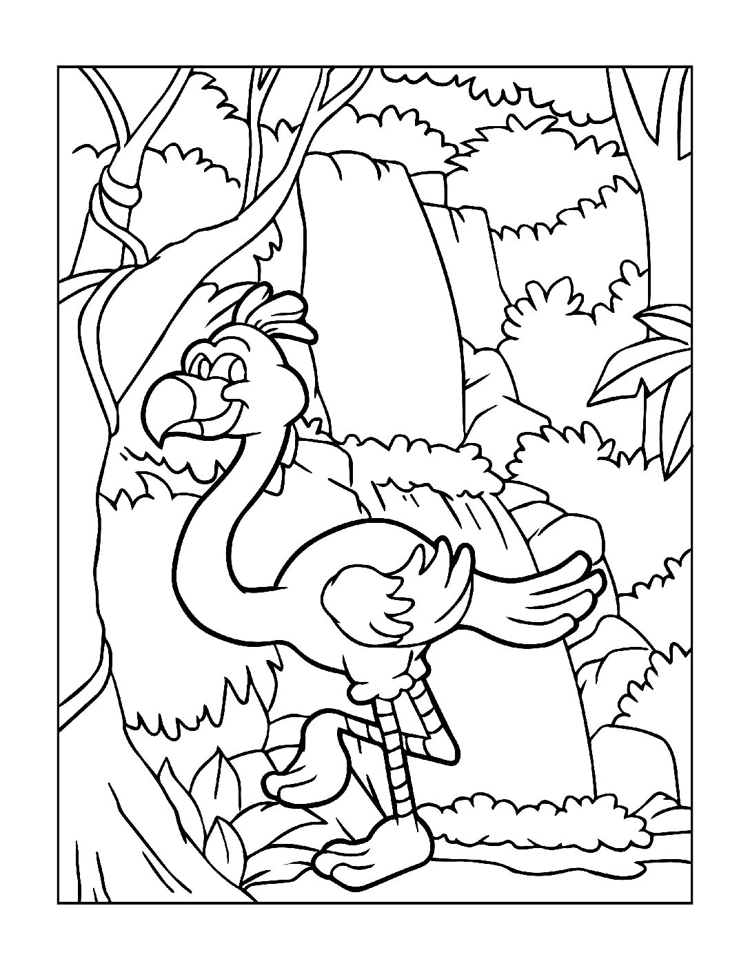 Coloring-Pages-Zoo-Animals-3-01-1-pdf Free Printable  Zoo Animals Colouring Pages