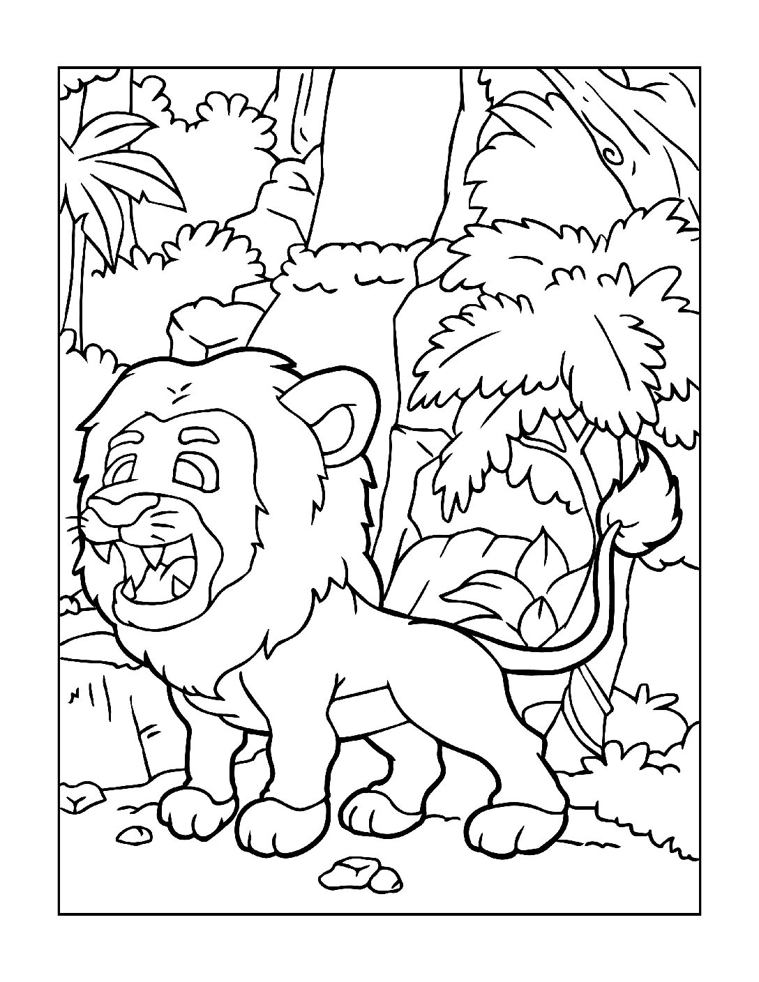Coloring-Pages-Zoo-Animals-4-01-1-pdf Free Printable  Zoo Animals Colouring Pages