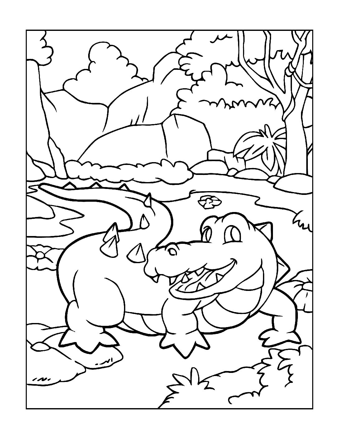 Coloring-Pages-Zoo-Animals-5-01-2-pdf Free Printable  Zoo Animals Colouring Pages