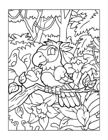 Coloring-Pages-Zoo-Animals-6-01-1-pdf-791x1024-640x480 Free Printable  Zoo Animals Colouring Pages