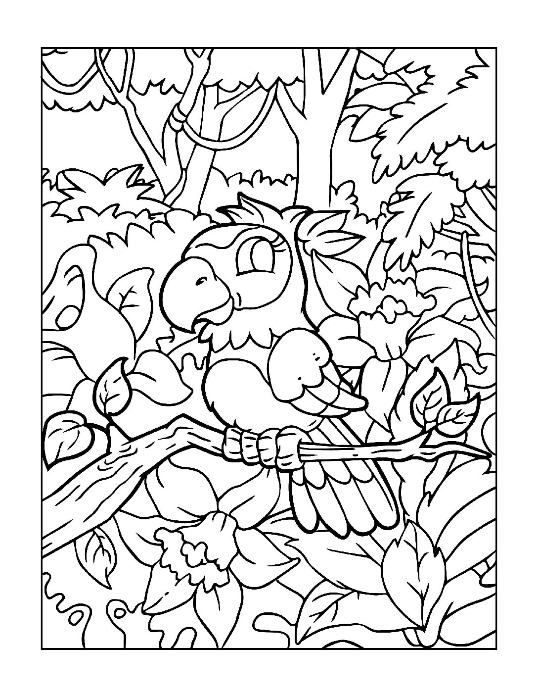 Coloring-Pages-Zoo-Animals-6-01-1-pdf Free Printable  Zoo Animals Colouring Pages