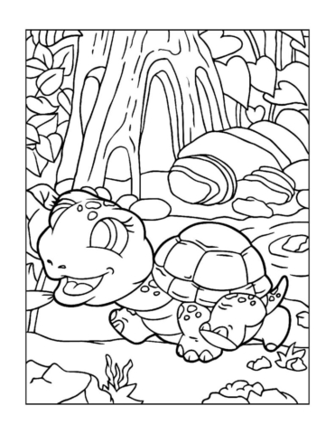Coloring-Pages-Zoo-Animals-9-01-1-pdf-791x1024-640x480 Free Printable  Zoo Animals Colouring Pages