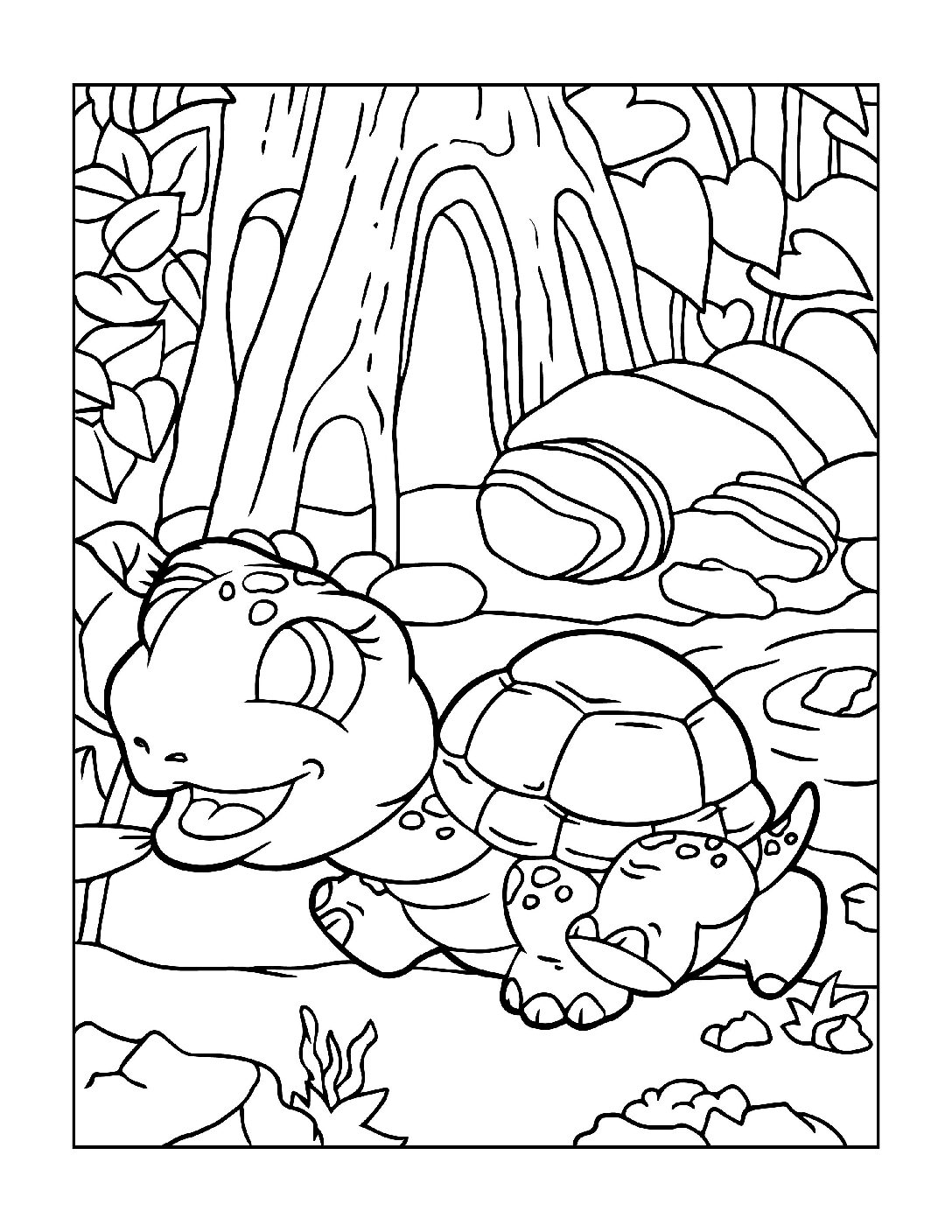 Coloring-Pages-Zoo-Animals-9-01-1-pdf Free Printable  Zoo Animals Colouring Pages