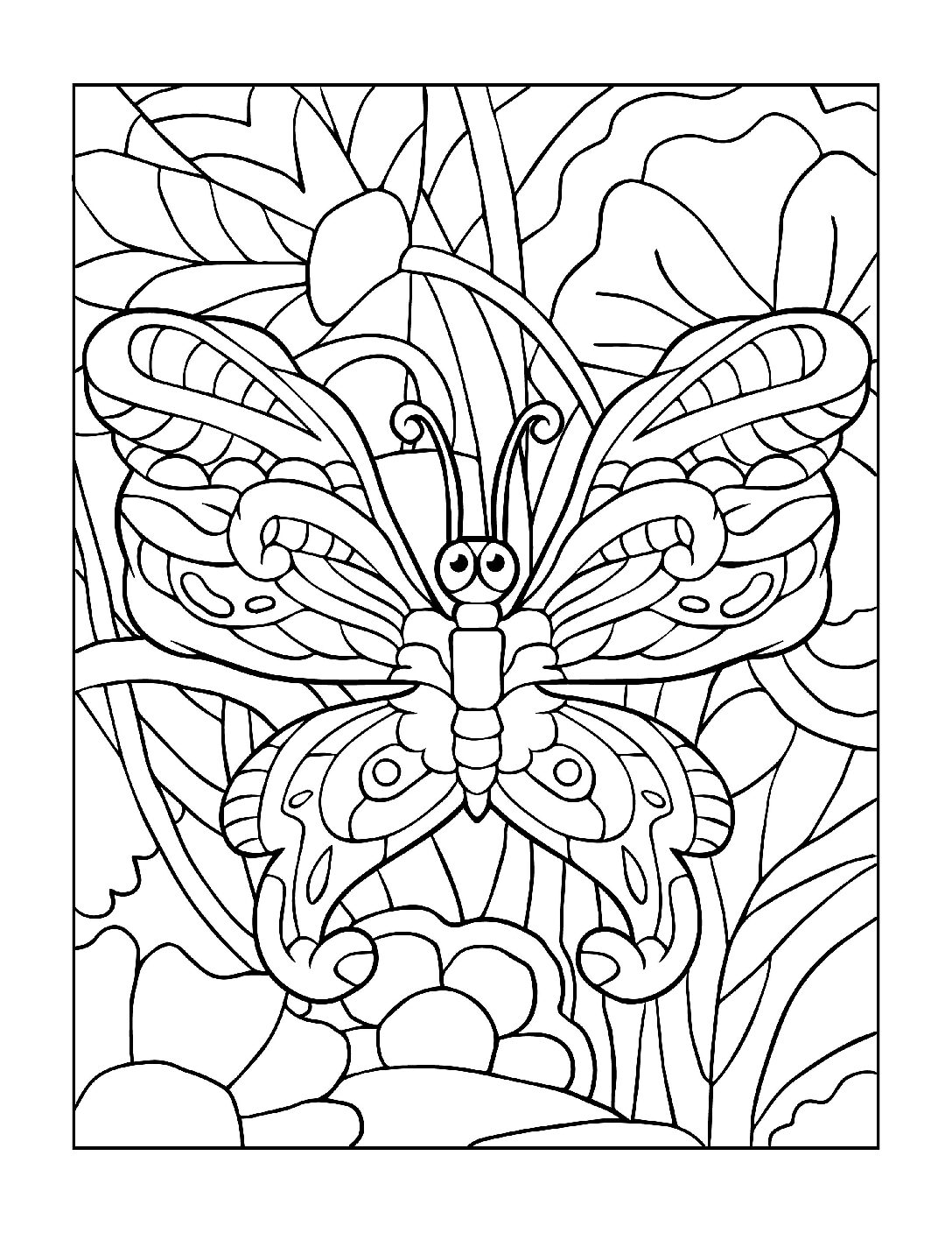 Coloring-Pages_Butterflies-11-01-1-pdf Free Printable Butterfly Colouring Pages
