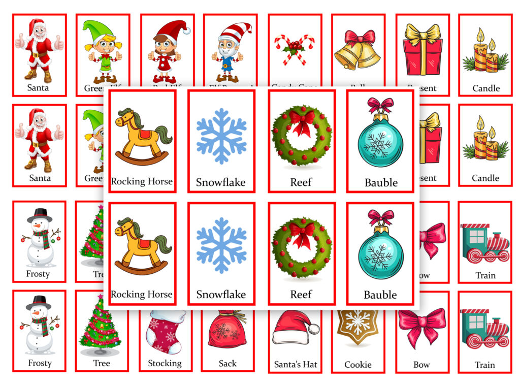 Christmas Pair Games for Free