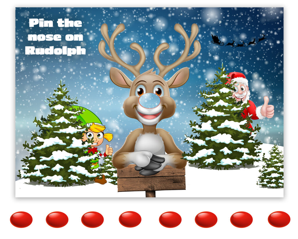 Rudolph Christmas Games for Free