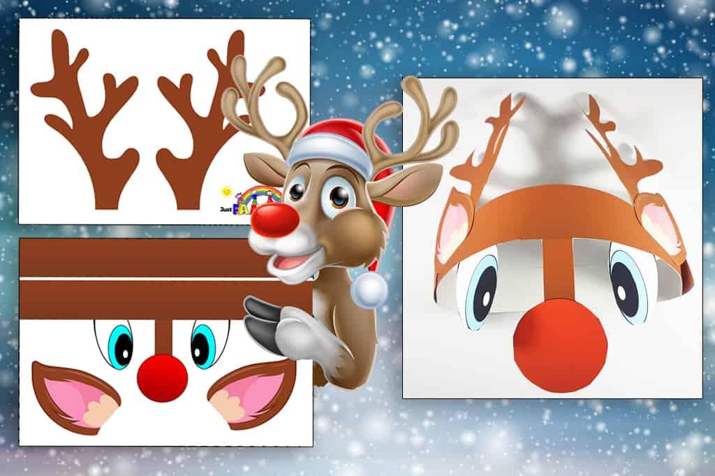 How To Make Printable Reindeer Antlers