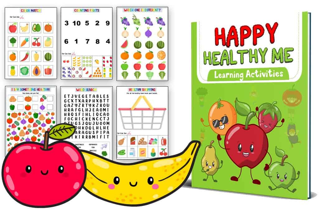 Healthy Me Activities For Preschool
