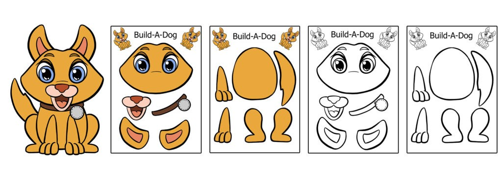 Dog-1024x366 Download 20 Free Printable Paper Cut Out Characters