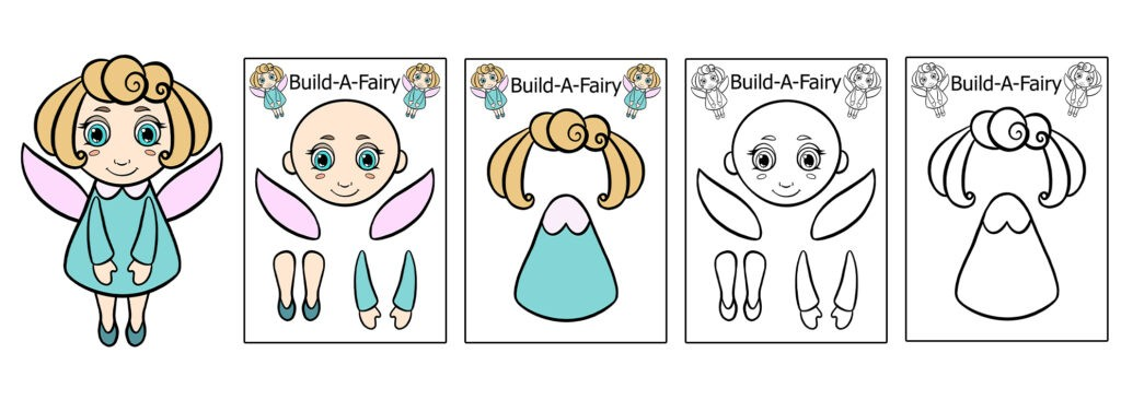Fairy-1024x366 Download 20 Free Printable Paper Cut Out Characters