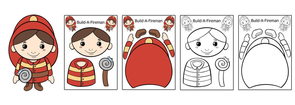 Fireman-1024x366 Download 20 Free Printable Paper Cut Out Characters