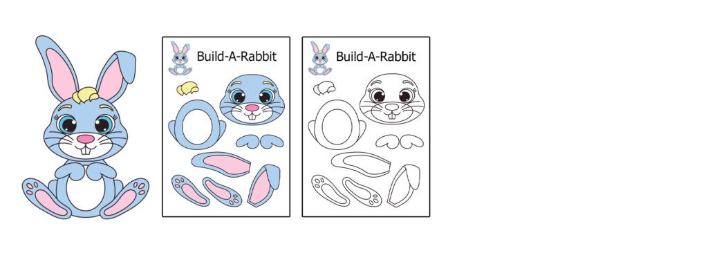 Rabit-1024x366 Download 20 Free Printable Paper Cut Out Characters
