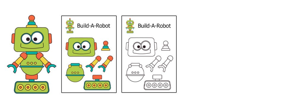 Robot-1024x366 Download 20 Free Printable Paper Cut Out Characters