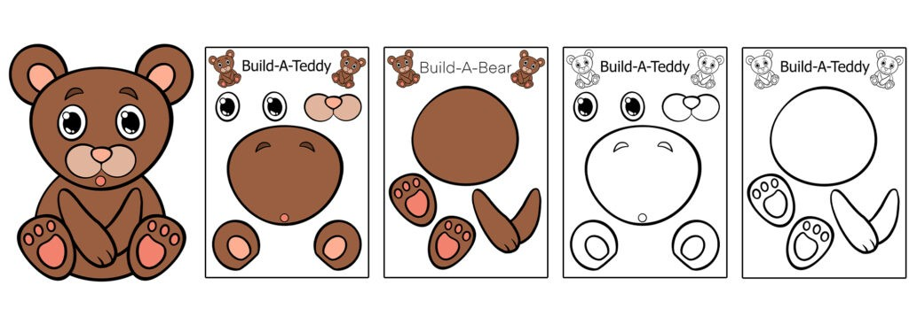 Teddy-1024x366 Download 20 Free Printable Paper Cut Out Characters