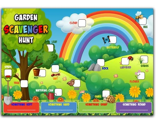 free_scavenger_hunt Free Printable Indoor And Outdoor Scavenger Hunt