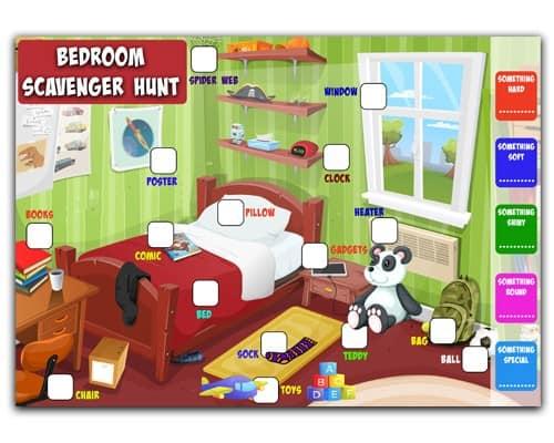 free_scavenger_hunt2 Free Printable Indoor And Outdoor Scavenger Hunt