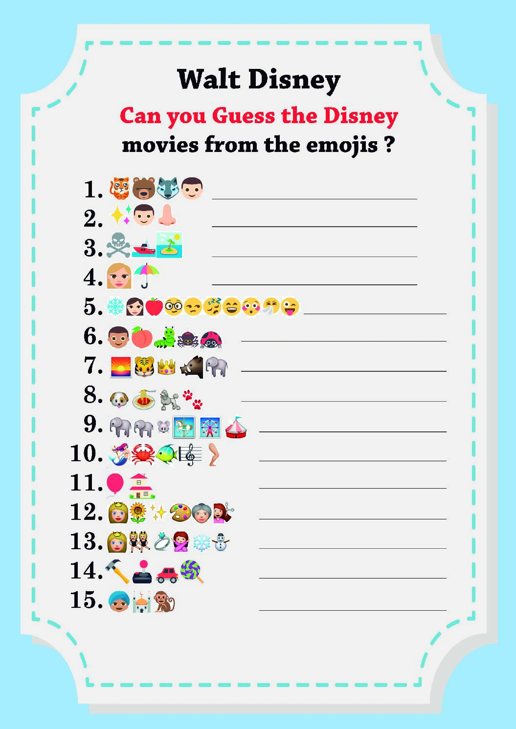 CAN-YOU-GUESS-THE-DISNEY-MOVIES-FROM-THE-EMOJIS-pdf Guess the Emoji Print Out Sheets